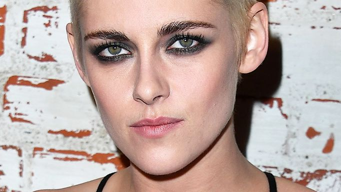 Kristen Stewart shaved head