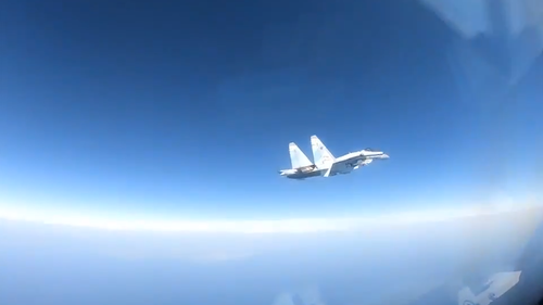 Russian Jet Performs 'Unsafe' Interception of US Military Plane, US Navy Says