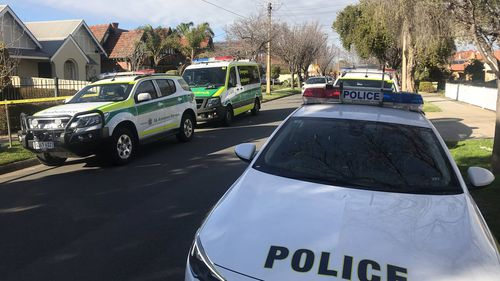 The gunman fled the scene on foot.