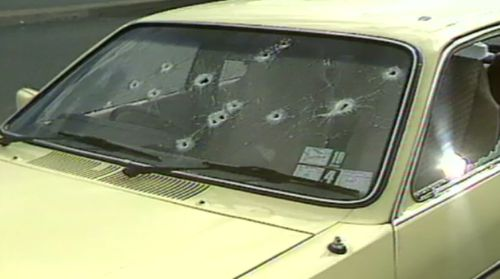 Knight's bullets peppered cars, police helicopters, and claimed seven innocent lives.