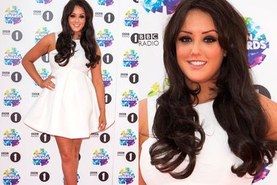 <i>Geordie Shore's</i> Charlotte Crosby looked all-white on the night.