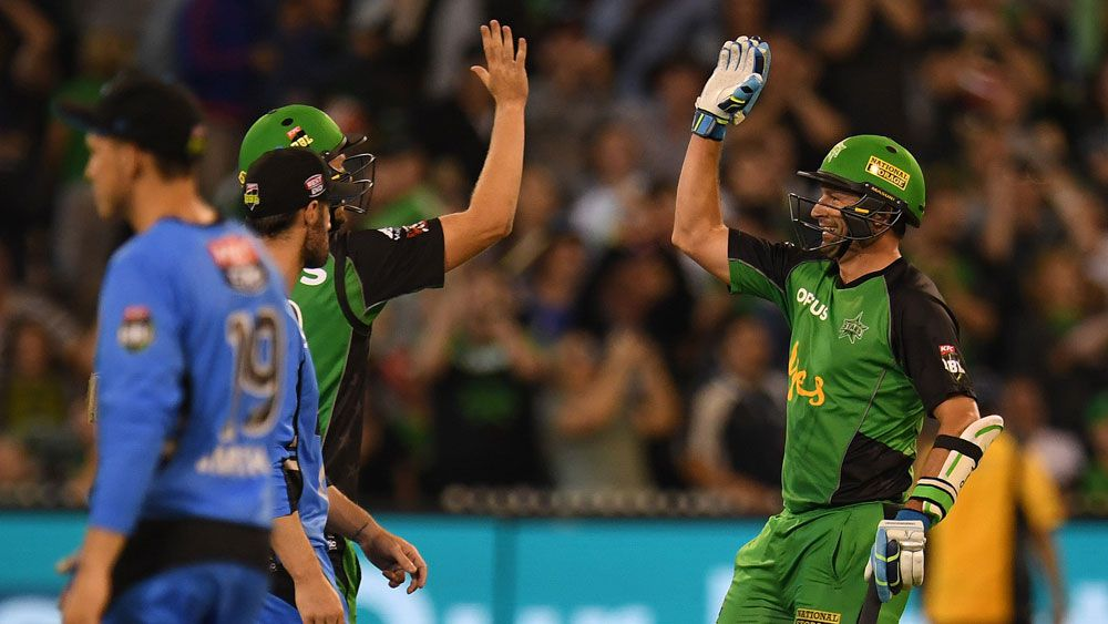KP clashes with umpires in Stars' BBL win