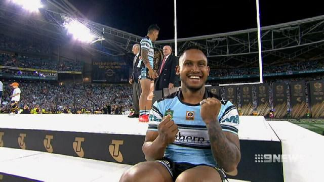 Barba the only offender, say Sharks