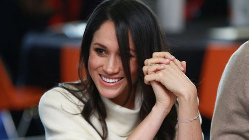 Meghan Markle interviewed Ms Ptak for her former lifestyle blog, TheTig.com. (PA/AAP)