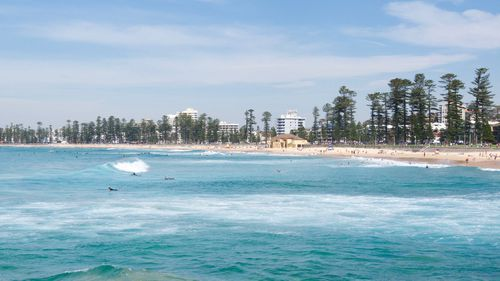Manly Beach in Sydney.