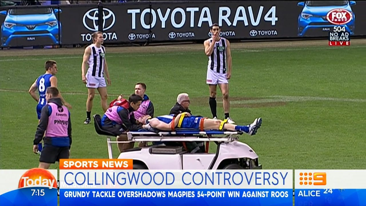 Brown injured in loss