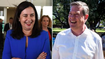 Battle of the nice guys: Day 1 of the Queensland election campaign