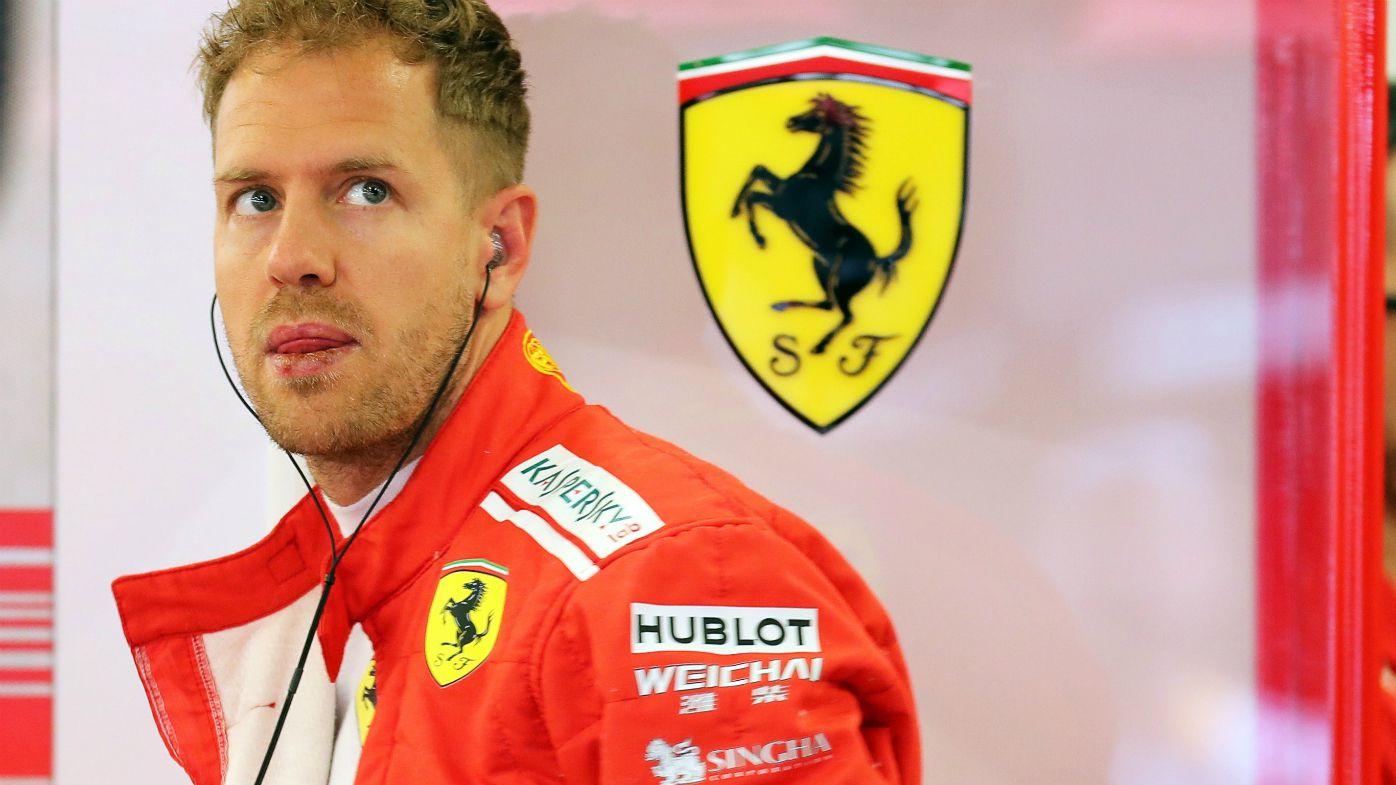 German Formula One driver Sebastian Vettel