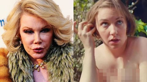Joan Rivers shames Lena Dunham over weight: 'Stay fat, get diabetes'
