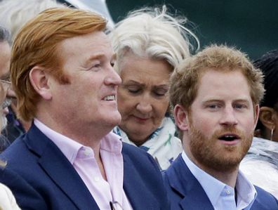 Mark Dyer Prince Harry at event