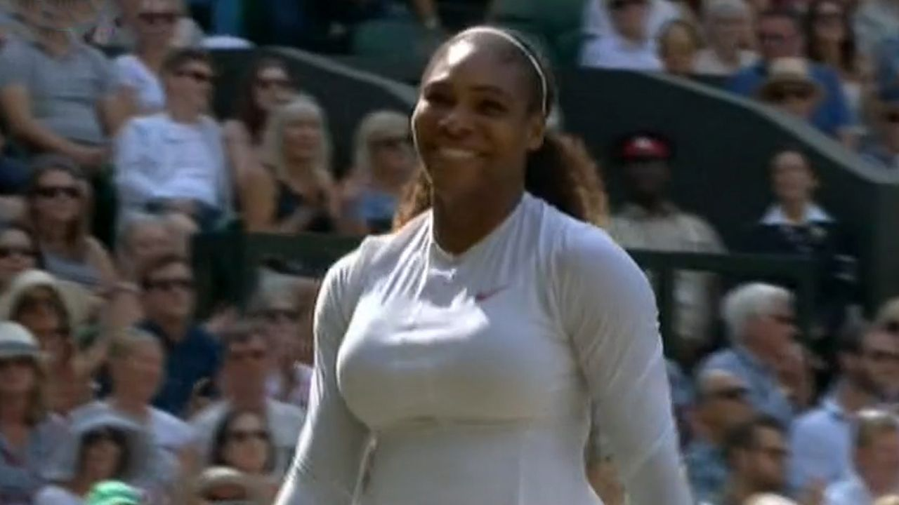 Serena Williams to face Angelique Kerber in Wimbledon final
