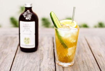 Celeryman liquored iced soda
