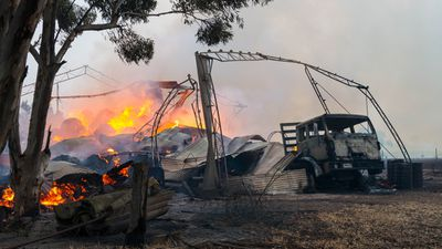 Members of the public have been encouraged to remain vigilant for any further damage to their properties around the mid-north of South Australia. (AAP)