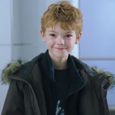 Thomas Brodie-Sangster: Then