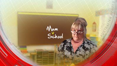 Mum v school