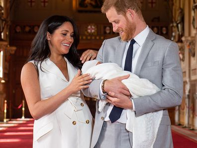 Archie Harrison Mountbatten-Windsor name royal title