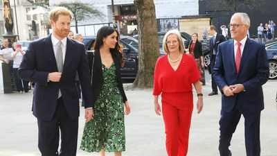 Turnbulls meet Prince Harry and Meghan Markle