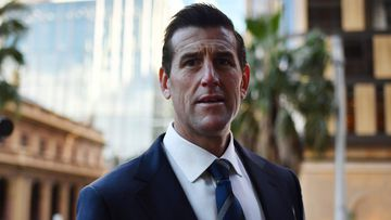Ben Roberts-Smith arrives at the Federal Court in Sydney on June 9.