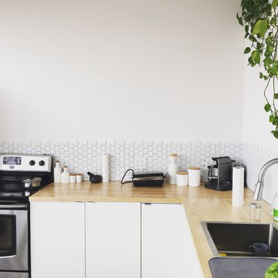 5. They wipe down their kitchen counters