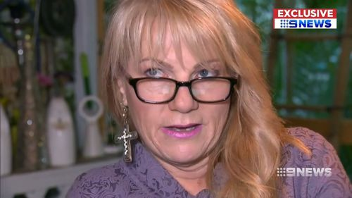 Bianca's mother Sonia Anderson said the book is 'disgusting'. Picture: 9NEWS