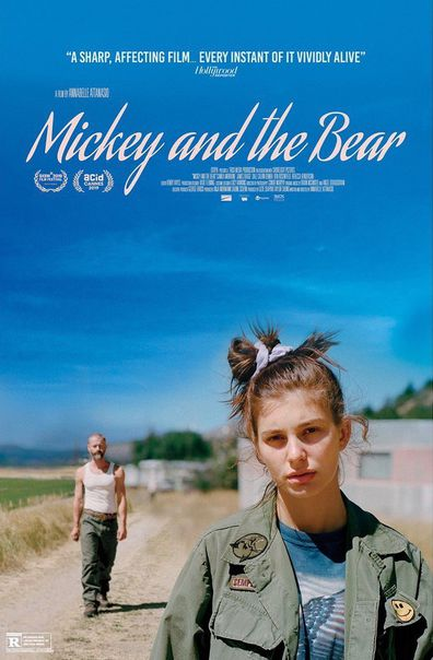 Camila Morrone, movie, poster, Mickey and the Bear
