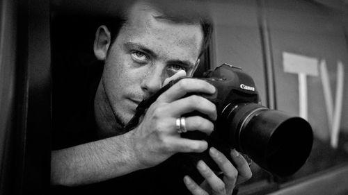French photographer Remi Ochlik. (AP).