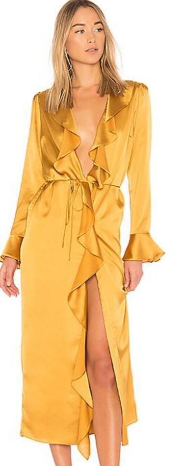 "<p><a href=""http://www.revolveclothing.com.au/tularosa-michelle-robe/dp/TULA-WO52/?d=Womens&amp;page=1&amp;lc=19&amp;itrownum=7&amp;itcurrpage=1&amp;itview=01&amp;plpSrc=%2Fr%2FSearch.jsp%3Fsearch%3Dyellow%26d%3DWomens%26sortBy%3Dfeatured"" target=""_blank"" draggable=""false"">Tularosa Michelle Robe in Mustard, $254.13</a></p>"