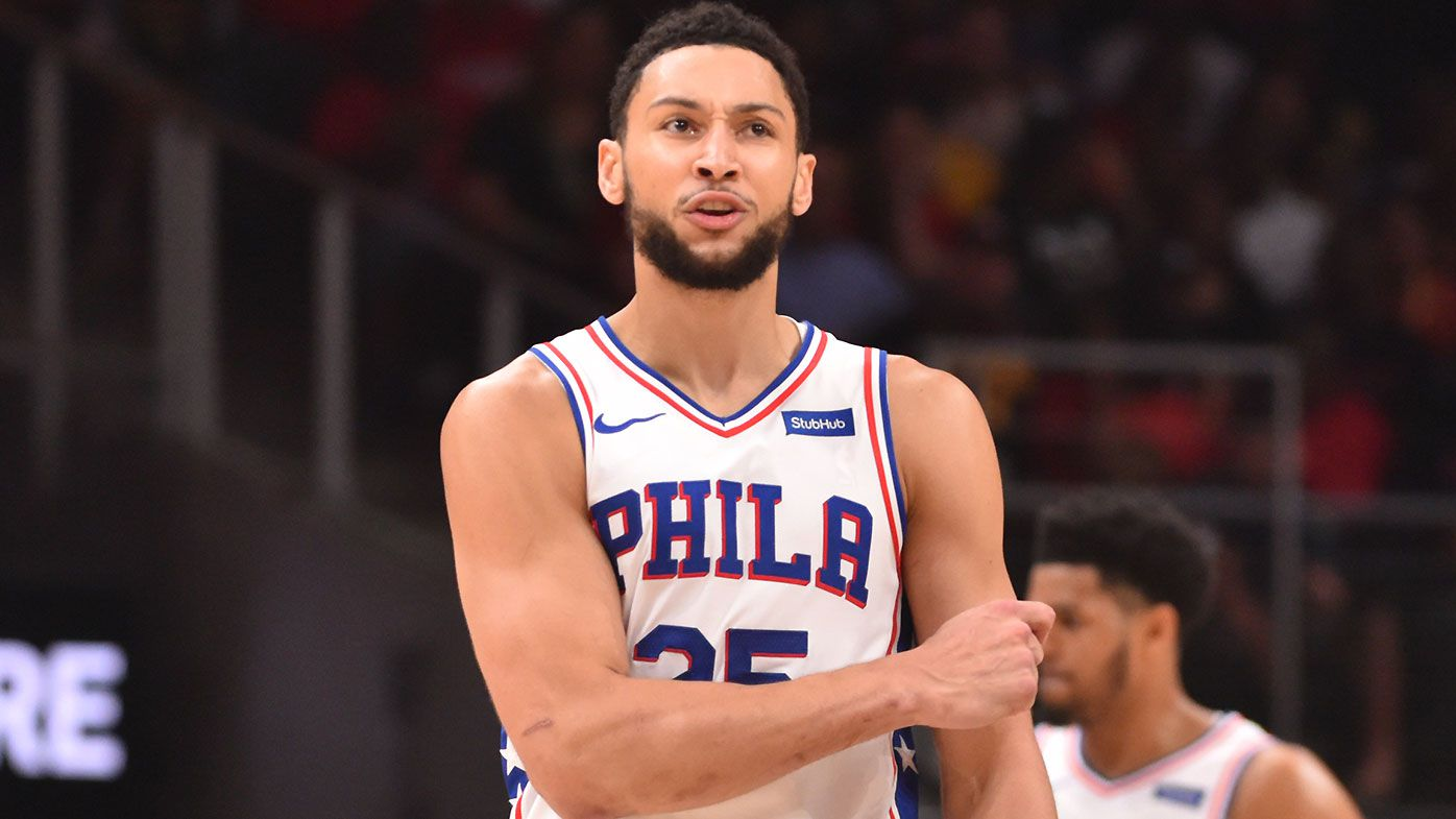 How Simmons 'really broke the ice' with 76ers