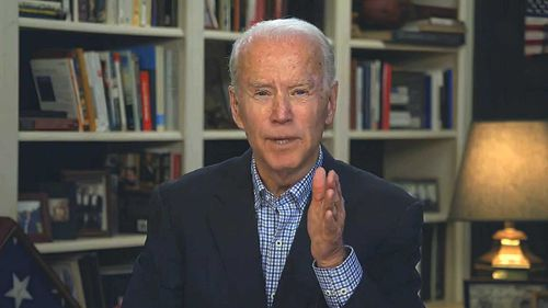 Joe Biden is near-certain to be Donald Trump's opponent in the November election.