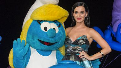 """Who else can relate to a picture-perfect cartoon queen better than the 'California Girl' herself?<P><br/><b>Katy says:</b> """"I get to kinda be a part of creating her character and adding little nuances to who I guess she is on the big screen… It's basically my voice with a little bit, like, throw some rocks in it… like I had too many cups of coffee all in one day.""""<br/>"""