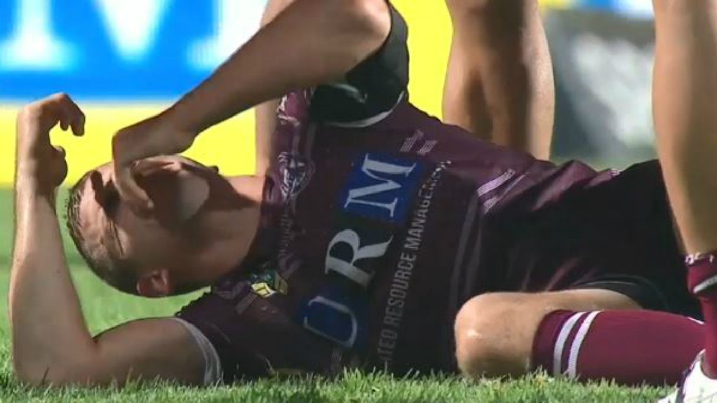 Manly lose Lachlan Croker to ACL injury in Newcastle Knights NRL defeat