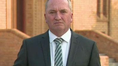 Barnaby Joyce on Nationals leadership spill
