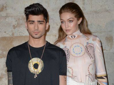 Zayn Malik, Gigi Hadid, Paris Fashion Week, 2016