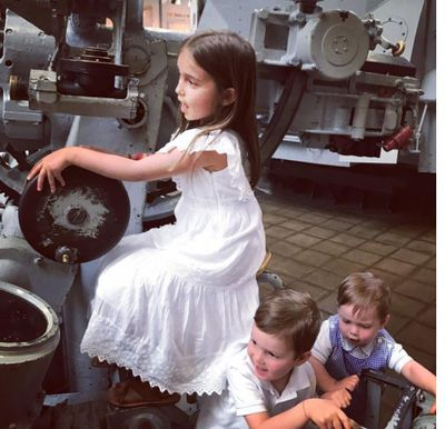 A visit to the navy museum was educational and fun - just the way us parents like it.