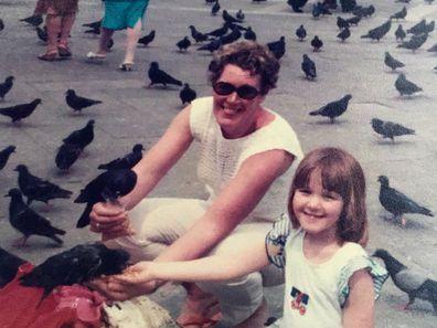 Sarah Swain and mum, Jean Swain