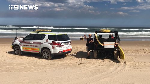 The boy was swiming with his family at Lighthouse Beach when he and his brother were caught in a rip. (9NEWS)