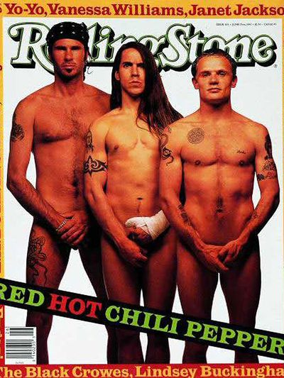 <p>Red Hot Chili Peppers, 1992</p>