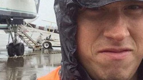 The man who stole the plane has been identified as airline employee Richard Russell. (Supplied)