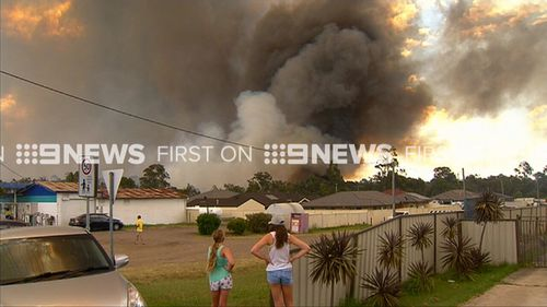 Emergency warnings have been issued for areas near Cessnock. (9NEWS)