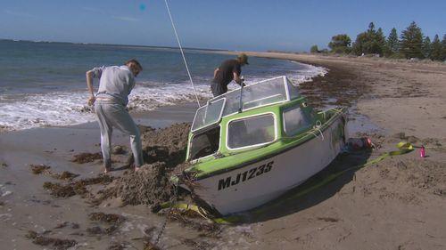 Wright Island boat capsize