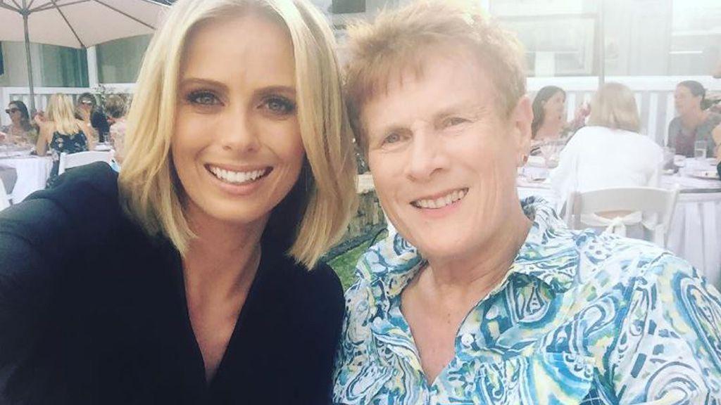 Sylvia and her beloved mother Janine. Image: Instagram/@sylviajeffreys