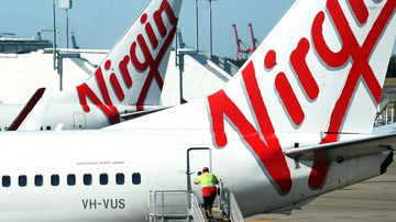 A passenger on a Virgin flight from Adelaide to Brisbane had measles.