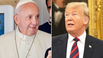 """Pope Francis has said the fear of migration is """"making us crazy"""", amid a stand-off over US President Donald Trump's promised wall at the US-Mexico border."""