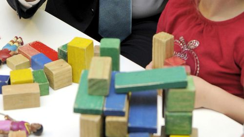 A child plays at a childcare centre. (AAP)