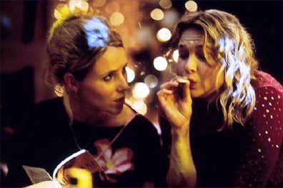 Sally Phillips, Shazza, Renee Zellweger, Bridget Jones, Bridget Jones' Diary