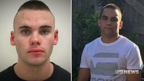 Cooper Hay and Quinton Coin are on the run after the rampage. (9NEWS)