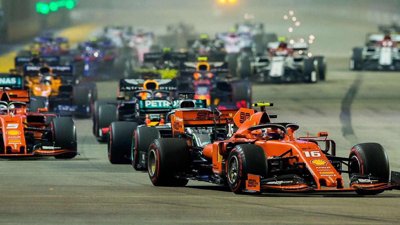 Singapore Grand Prix in 2019