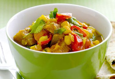 "Recipe:<a href=""/recipes/ieggplant/8345593/microwave-chickpea-and-eggplant-curry"">Microwave chickpea and eggplant curry</a>"
