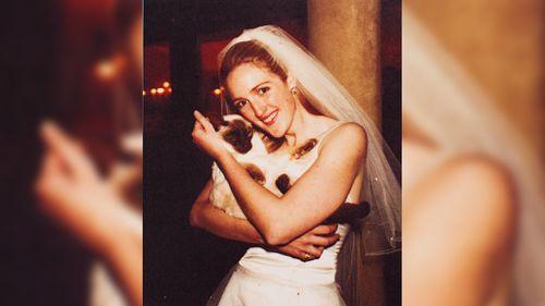 Martin Place siege victim Katrina Dawson on her wedding day. (AAP)
