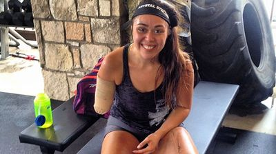 Since her accident, Cantu's commitment to CrossFit has only intensified. (Instagram)